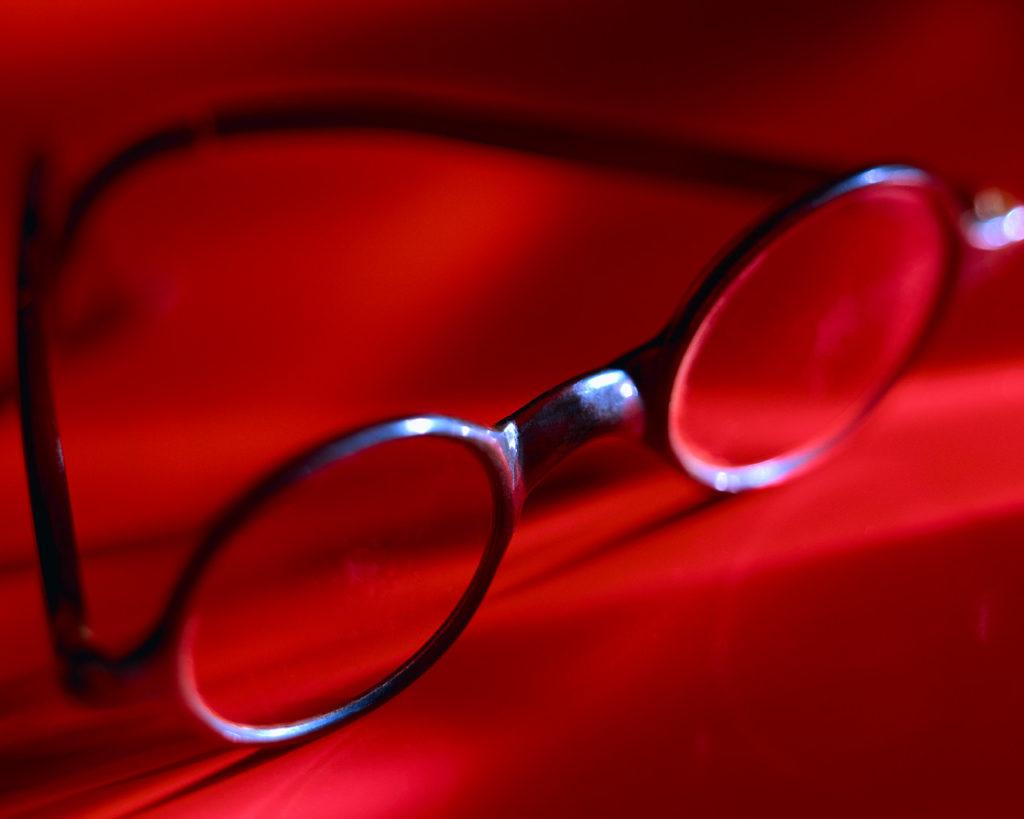 gafa acetato, gafa antigua