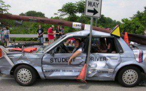 Accidente coche, seguridad vial, accidente automovil