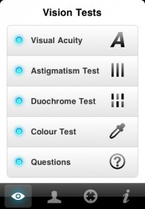 Essilor iPhone aplicacion, aplicacion iphone lentes oftalmicas