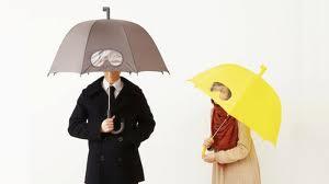 gafas paraguas, paraguas distinto