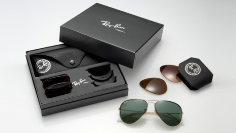 Ray ban flip out caja, Ray Ban flip out box, Ray Ban flip out estuche
