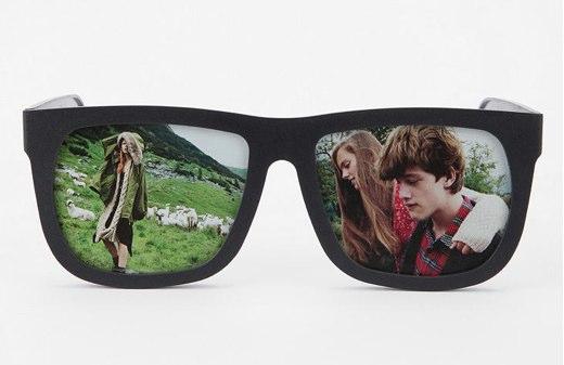 Marco de fotos con forma de gafas de sol (Gadget) - LDO