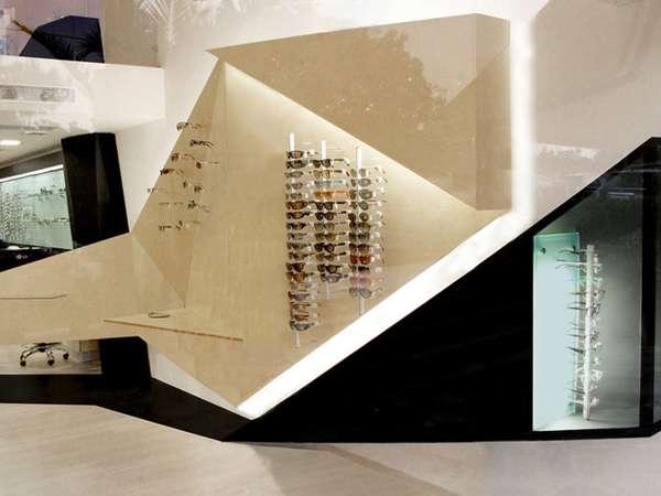 tienda óptica diseño