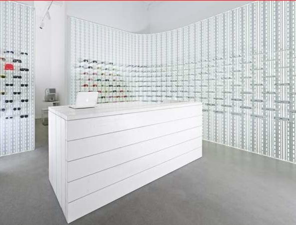 tienda optica moderna