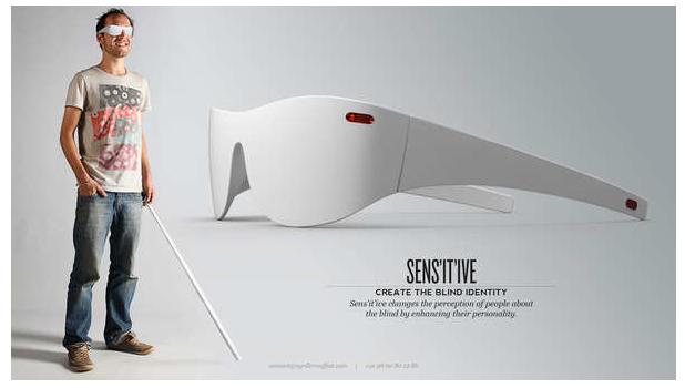 Gafas radar ciego, gafas ayuda ciego, gafas radar baja visión, gafas especiales ciegos