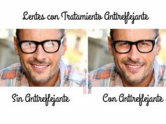 anti reflejos cristal gafa
