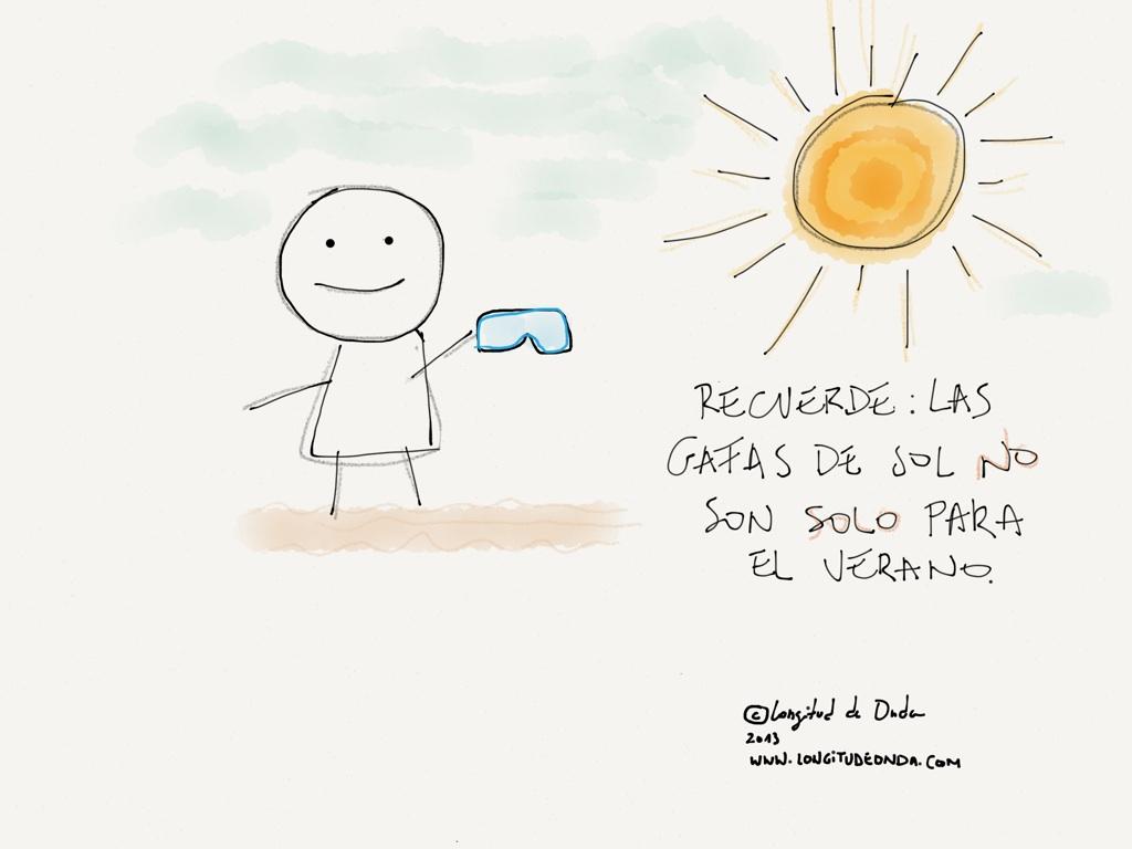 Las Gafas De Sol No Son Solo Para El Verano Longitud De Onda