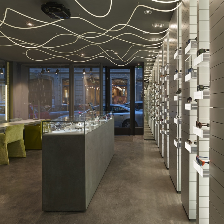 interiorismo y diseño opticas