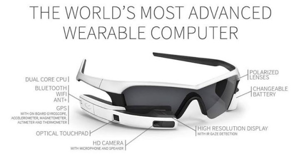 gafas sol inteligentes deportistas