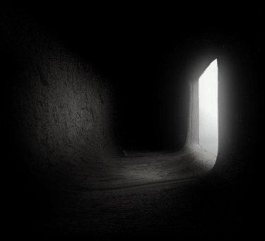 pieza oscura