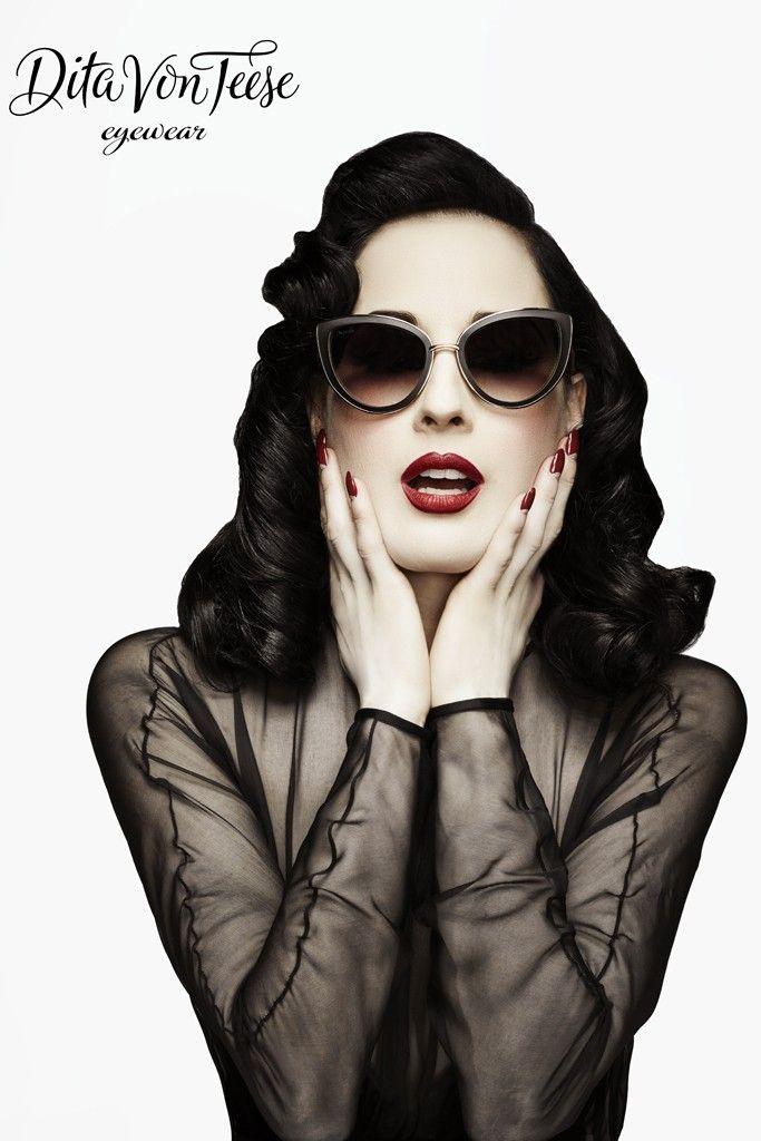 Dita Von Teese Eyewear gafas con inspiracion vintage 3
