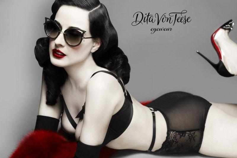 Dita Von Teese Eyewear gafas con inspiracion vintage 5