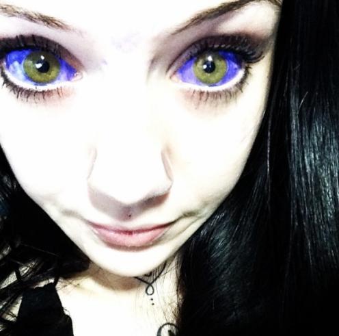 tatuarse ojos