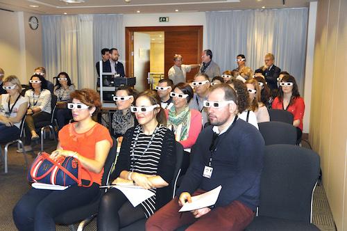 Sala 3D en OPTOM
