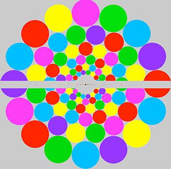 vision periferica colores