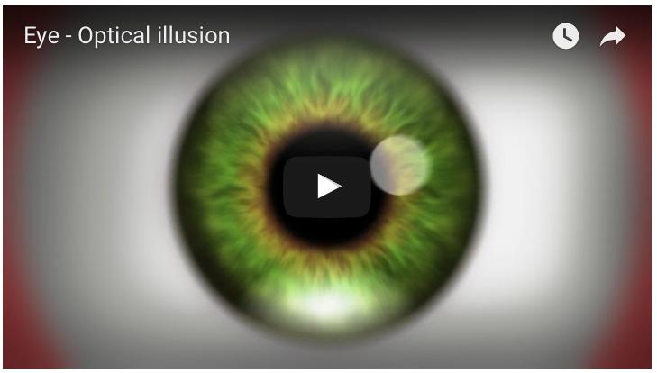 Ilusiones ópticas en vídeo, nunca habrás visto nada tan fascinante ni perturbador