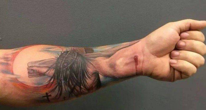 tatuaje ilusion optica 15