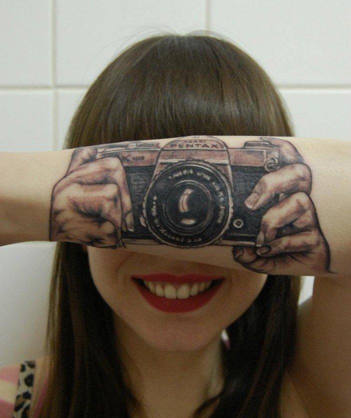 tatuaje ilusion optica 18