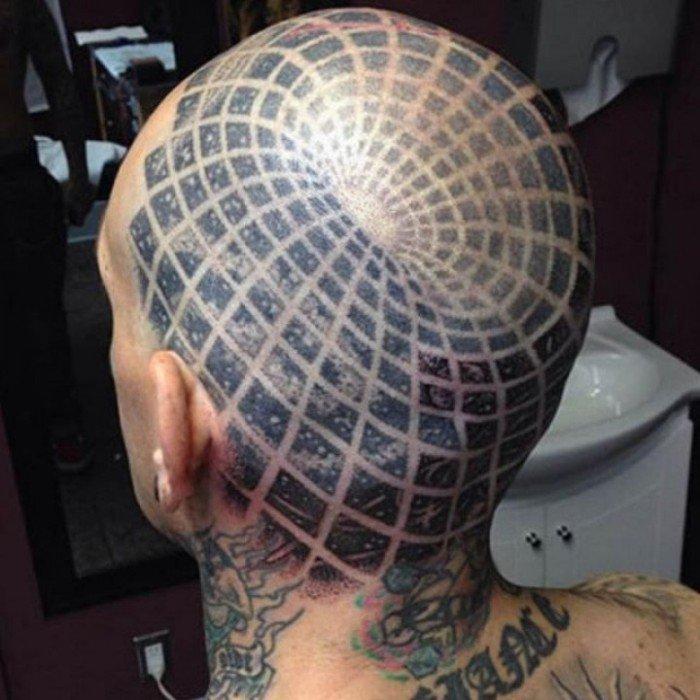 tatuaje ilusion optica 22