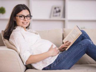 embarazada vista ojos cambios vision