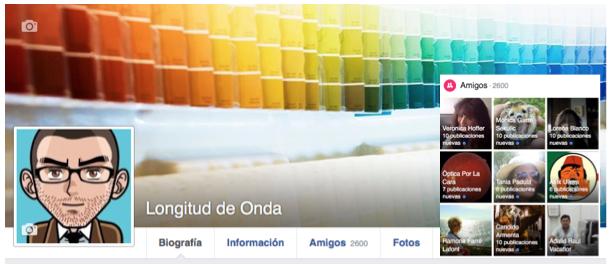 Longitud de Onda Facebook