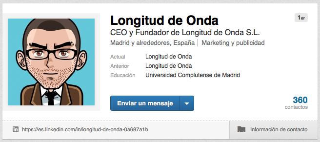 Longitud de Onda Linkedin