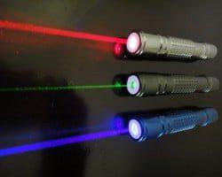 punteros laser colores