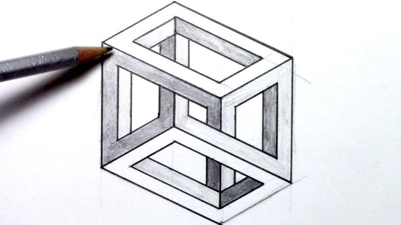 Cómo dibujar ilusiones ópticas sin ser un experto y de forma sencilla