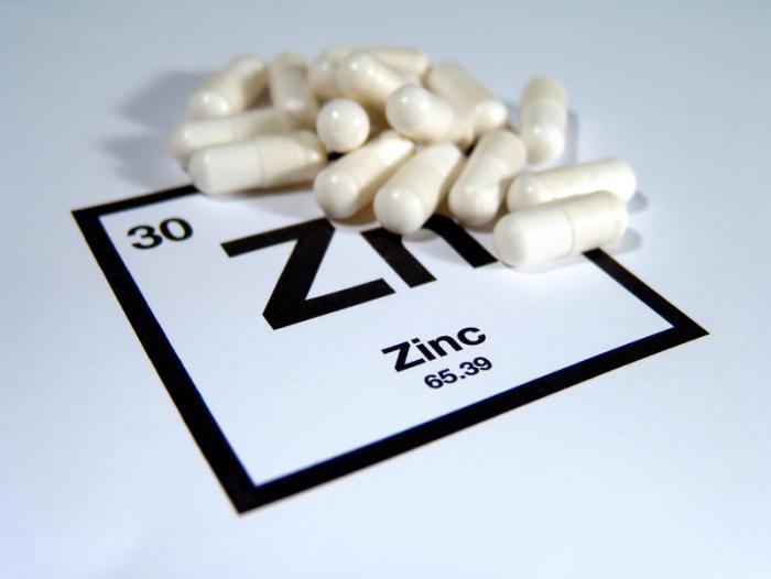 tratamiento medico zinc