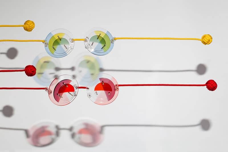 gafas de sol cristales colores