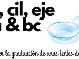 lentillas graduacion informacion