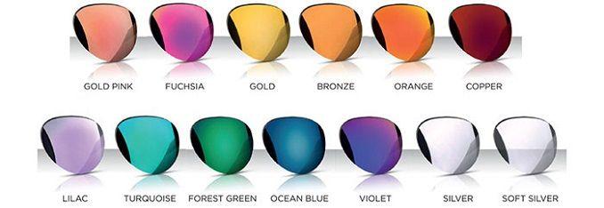 colores lentes gafas